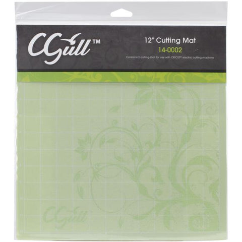 "C Gull 12"" Green Cutting Mats ( 2 pack)"
