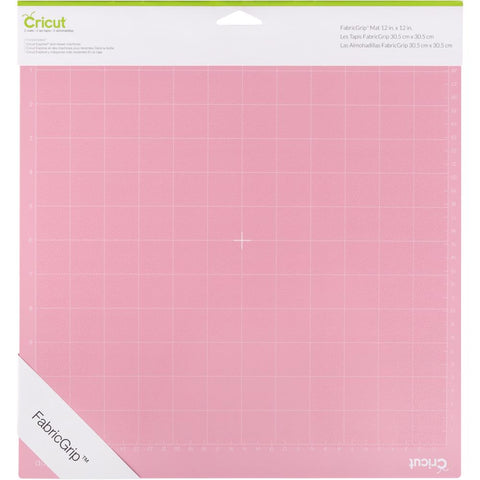 "Cricut Maker Fabricgrip Mat 12""X12"" 2/Pkg"