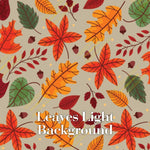 Heat Activated Fall Themed Permanent Patterns