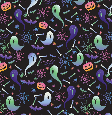Halloween Themed Patterned HTV