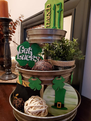 St. Patricks Day Tier Tray Kit