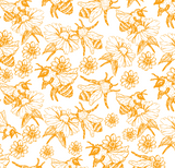 BEES! Permanent adhesive pattern