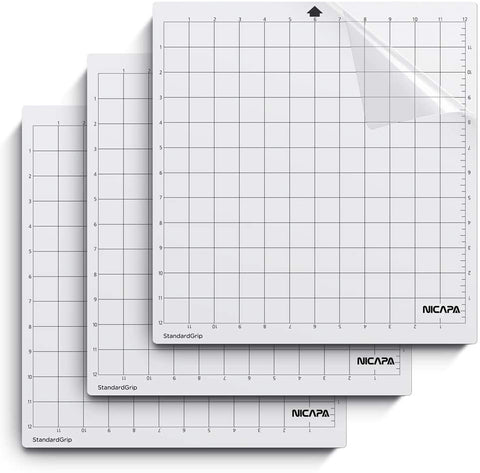 "NICAPA 12"" x 12"" Standard Mat for Silhouette"