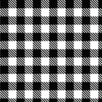 Black and White Buffalo Plaid Patterns