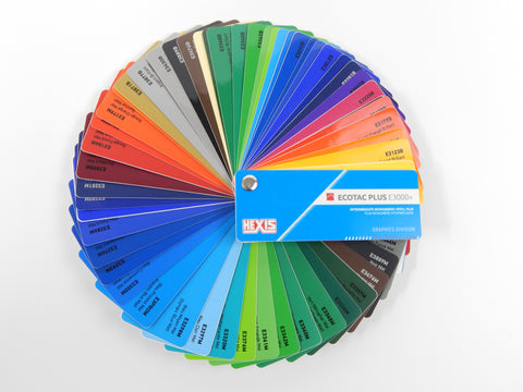 HEXIS Intermediate ECOTAC Color Card