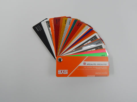 HEXIS SPECIALTIES Color Card