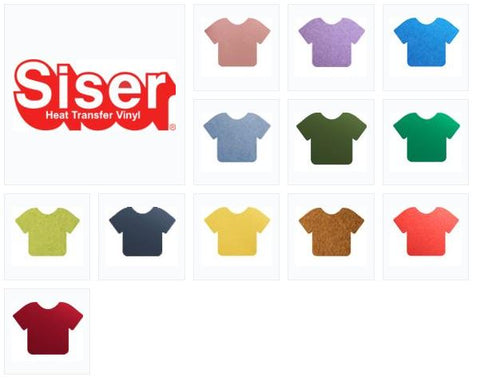 SISER- EasyWeed Electric HTV 12 Color Pack