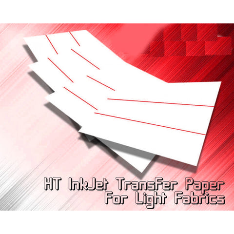 Inkjet Heat Transfer paper for Lights 8.5x 11