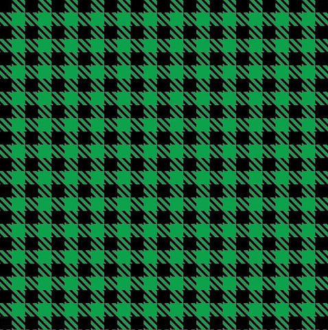 HTV GREEN Buffalo Plaid Patterns