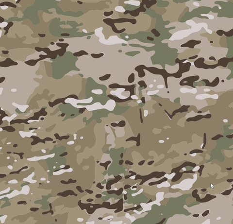 Multi Cam- Camo Pattern
