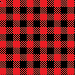 HTV RED Buffalo Plaid Patterns