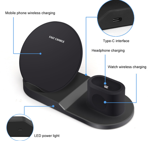 Fast Charge 3 in 1 Wireless