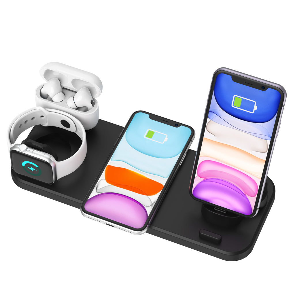 FastChargeStore™ 4 in 1 Fast Wireless Charging Stand -