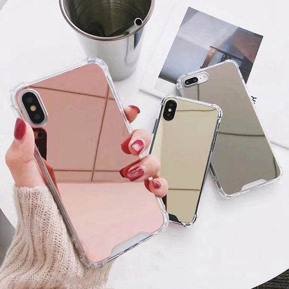 Reflective Mirror iPhone Case - Fast Charge Store