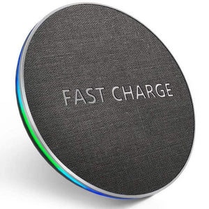 iPhone & Samsung Wireless Fast Charging Pad - Fast Charge Store