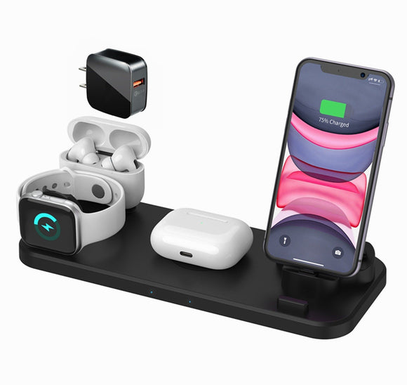 FastChargeStore™ 4 in 1 Fast Wireless Charging Stand - Fast Charge Store