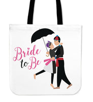 Bride to Be Hmong Couple Wedding Bridal Tote