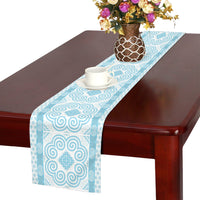 Blue Hmong Table Runner