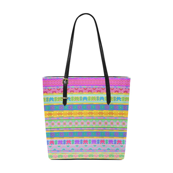 Hmong Trims Printed Tote
