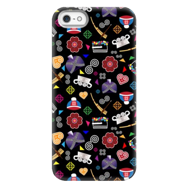 Hmong Confetti iPhone Case