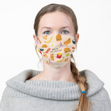 "Reusable Cloth Face Mask - Fast Food ""We're In This Together"""