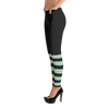 Stripe-Green-Hmong-Leggings-Side
