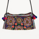 Embroidered Tribal Hmong Thai Handbag Clutch