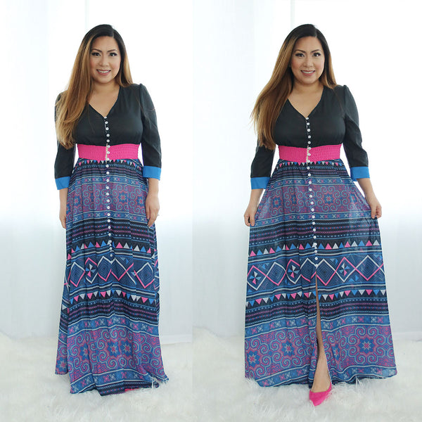 black-purple-hmong-dress