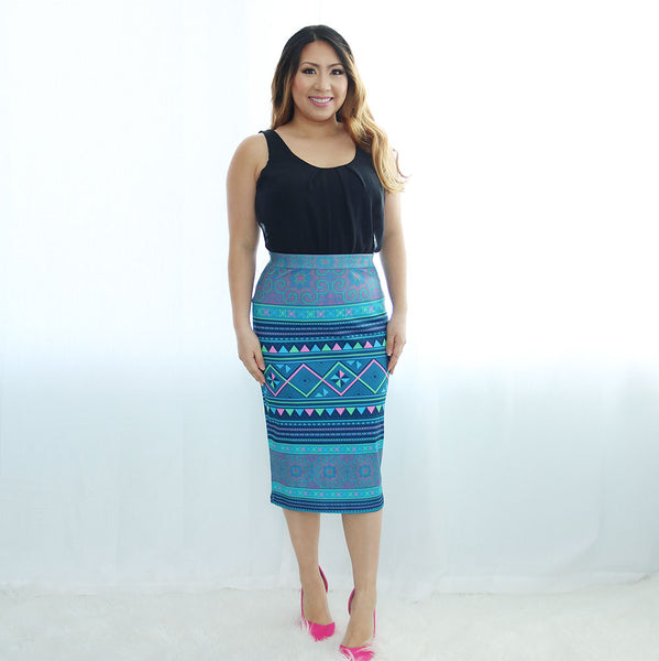 blue-pencil-skirt