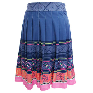 blue-pink-pleated-skirt