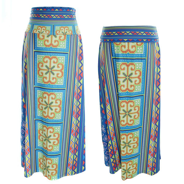 blue-yellow-maxi-skirt