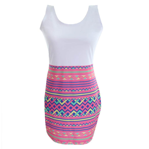 bodycon-pink-white