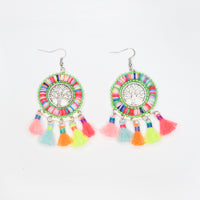 Tree Tassel Earrings