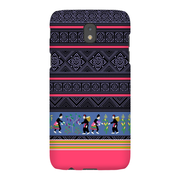 Hmong Batik Story Cloth Samsung Galaxy Phone Cases