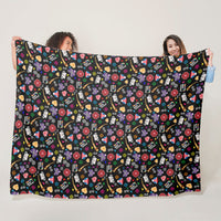 Hmong Confetti Fleece Blanket