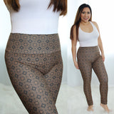 hmong-elephant-brown-leggings