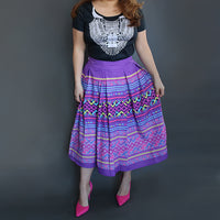 hmong-pleated-skirt-purple