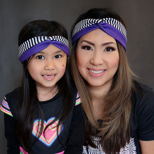 hmong-purple-turban-headband