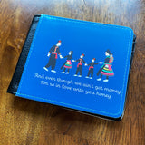 Personalized Mens Hmong Story Cloth Wallet