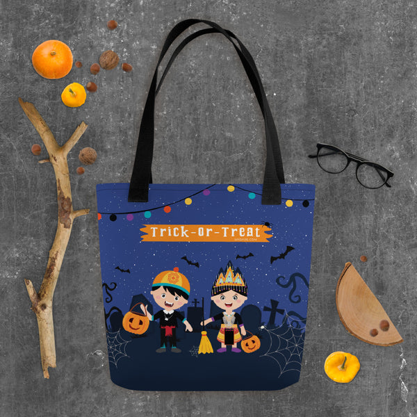 Limited Edition Halloween Trick or Treat Tote Bag