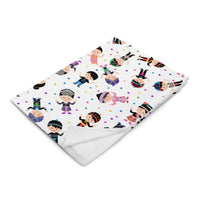 Hmong Boys & Girls Baby Confetti Blanket