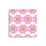 Hmong Flower Pattern Wall Art