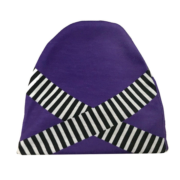 Newborn Purple Hmong Hat