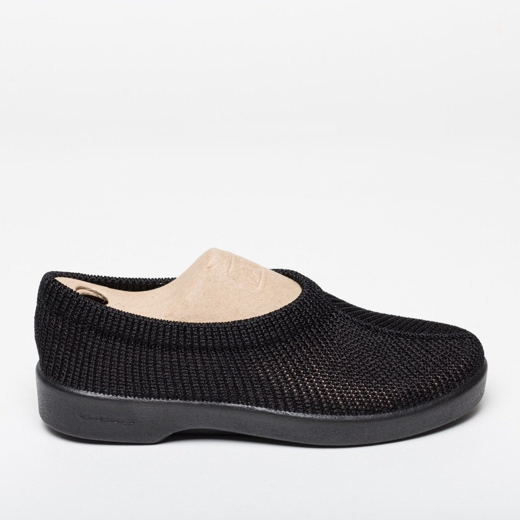 Sintra Black Slip Ons | Women Size 36 to 41 | MyJooti.com