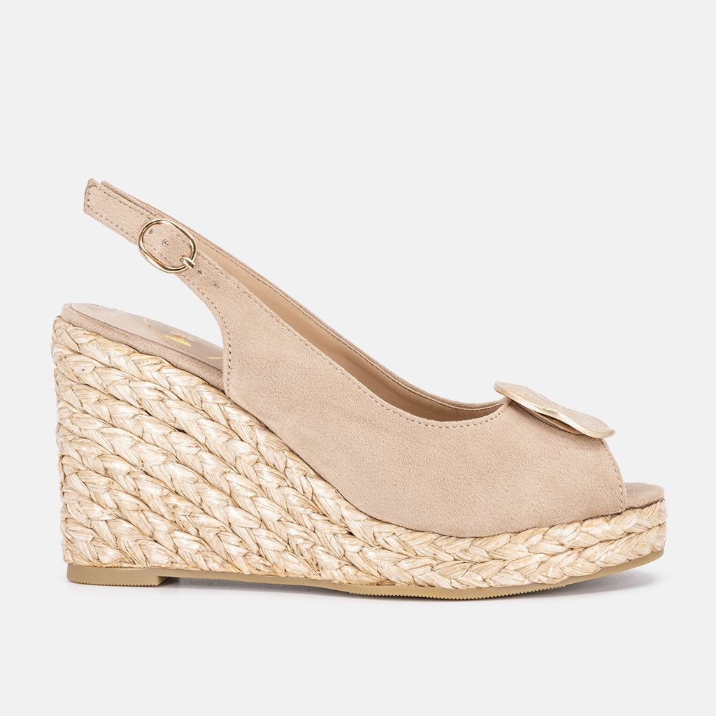Lille Beige Espadrille | Women Size 35 to 41 | MyJooti.com