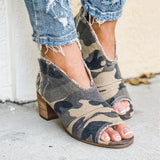 Sandalsdaily Sunshine Open Toe Boots
