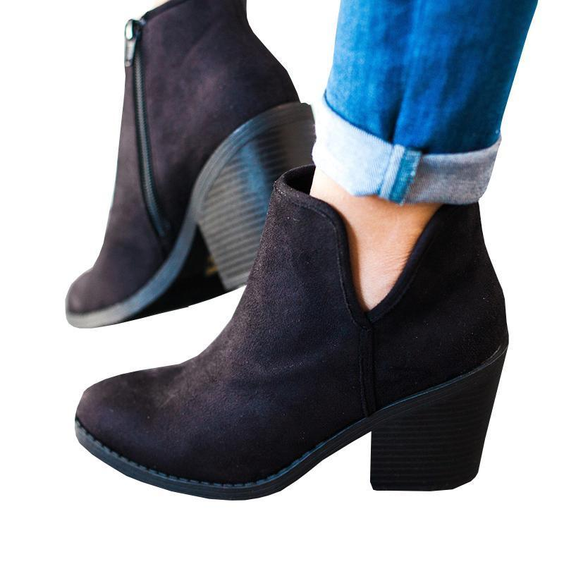 Sandalsdaily 2018 New Stylish Suede Boots Boots Women - Sandalsdaily
