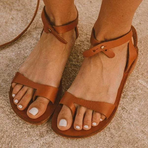 Sandalsdaily Boucle Simple Sandals