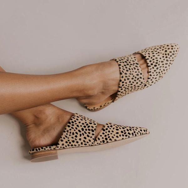 Sandalsdaily Summer Leopard Fashion Slippers