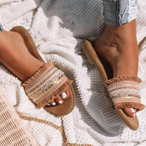 Sandalsdaily Casual Daily Flat Slippers
